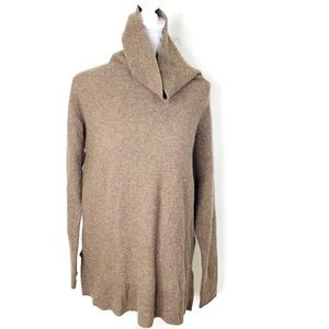 JOIE 100% Cashmere Turtleneck Sweater Small tan